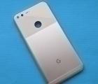 Крышка (корпус) Google Pixel XL серебро А-сток
