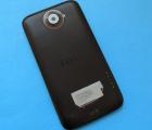 Крышка корпус HTC One X (C-сток) чёрная