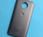 Крышка (корпус) Motorola Moto G5s Plus серая C-сток