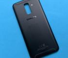 Крышка (корпус) Samsung Galaxy A6 plus (2018 / A605) чёрный А-сток