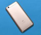 Крышка (корпус) Xiaomi Redmi 5a золото А-сток