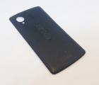 Крышка Google Nexus 5 чёрная (С-сток)