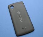 Крышка Google Nexus 5 чёрная (B-сток)