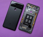 Крышка (корпус) Google Pixel 2 XL B-сток чёрный