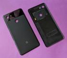 Крышка Google Pixel 3 XL чёрная (А сток) оригинал с разборки
