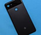 Крышка Google Pixel 3 XL чёрная новая