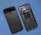 Крышка корпус Google Pixel 3a XL (A-сток) чёрный