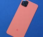 Крышка Google Pixel 4 XL со стеклом камеры оранжевая А-сток