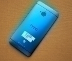 Крышка HTC One M7 синяя (А-сток)