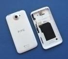 Крышка HTC One X C-сток белая корпус