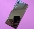 Крышка Huawei P20 Pro чёрная со стеклом камеры