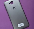 Крышка задняя Huawei Y5 2017 серая С-сток
