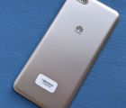 Крышка задняя Huawei Y5 2018 золотая A-сток