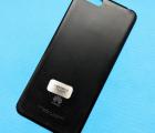 Крышка задняя Huawei Y6 (2018) чёрная B-сток