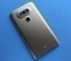 Крышка задняя LG G5 стекло камеры (А сток) серая