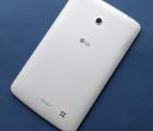 Крышка LG G Pad F7.0 LK430 белая B-cток с кнопками и стеклом камеры