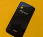 Крышка LG Google Nexus 4 B-сток чёрная