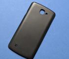 Крышка LG K4 2016 чёрная А-сток