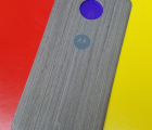 Крышка мод Motorola Moto Z3 Play дерево светлая (B-сток)