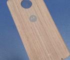 Крышка мод Motorola Moto Z Force дерево светлая (B-сток)