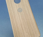Крышка мод Motorola Moto Z Force дерево светлая (А-сток)