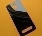 Крышка Motorola Moto Z3 чёрная B-сток