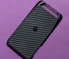 Крышка Motorola Atrix HD А-сток чёрная