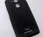 Крышка Motorola Droid Turbo нейлон С-сток чёрная