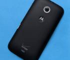 Крышка Motorola Moto E2 чёрная А-сток