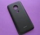 Крышка Motorola Moto E5 Play чёрная (А-сток)