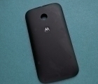 Крышка Motorola Moto E1 чёрная