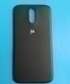 Крышка Motorola Moto G4 чёрная