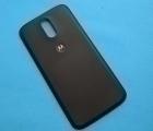 Крышка Motorola Moto G4 чёрная B-сток