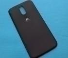 Крышка Motorola Moto G4 чёрная (А сток)