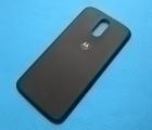 Крышка Motorola Moto G4 Plus чёрная B-сток