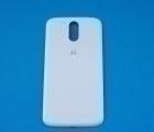 Крышка Motorola Moto G4 Plus белая - изображение 3