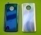 Крышка Motorola Moto G6 серебрянная