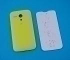 Крышка Motorola Moto G желтая