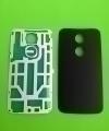 Крышка Motorola Moto X2 черная