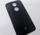 Крышка Motorola Moto X2 чёрная С-сток
