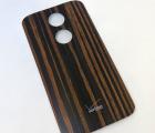 Крышка Motorola Moto X2 дерево эбонит А-сток