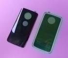 Крышка Motorola Moto X4 super black чёрная