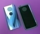 Крышка Motorola Moto X4 Sterling Blue голубая
