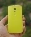 Крышка Motorola Moto X желтая