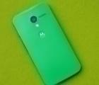 Крышка Motorola Moto X зеленая