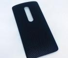 Крышка Motorola Moto X Play чёрная A-сток
