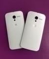 Крышка Motorola Moto X белая