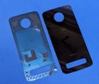 Крышка Motorola Moto Z3 чёрная новая