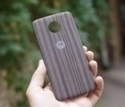 Крышка мод Motorola Moto Z Force дерево