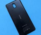 Крышка Nokia 3.1 чёрная B-сток